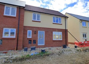 Thumbnail 2 bed end terrace house for sale in Curtis Way, Weymouth