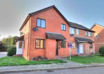 Thumbnail 1 bed terraced house for sale in Palm Close, Wymondham