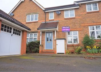 Thumbnail 2 bed terraced house for sale in Hopwood Close, Watford