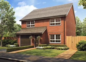 "Thumbnail 4 bedroom detached house for sale in ""Kennford"" at Stretton Road, Stretton, Warrington"