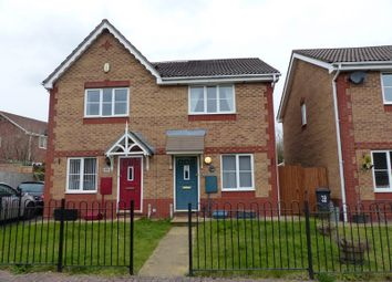 Thumbnail 2 bed semi-detached house to rent in Westons Brake, Downend