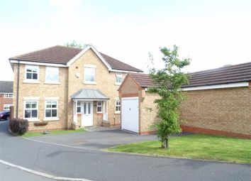 Thumbnail 4 bed detached house for sale in Holt Close, Stoney Stanton, Leicester