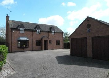 Thumbnail 4 bed detached house for sale in Firtree Lane, Swinford, Lutterworth