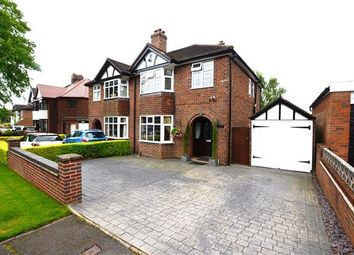 Thumbnail 3 bed semi-detached house for sale in The Plaisaunce, Westlands, Newcastle-Under-Lyme