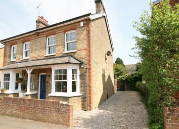Thumbnail 2 bed semi-detached house to rent in Cloverly Road, Ongar