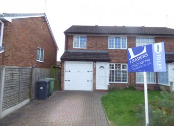 Thumbnail 3 bed semi-detached house to rent in Maisemore Close, Redditch