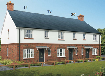 Thumbnail 3 bedroom terraced house for sale in Squires Meadow, Lea, Ross-On-Wye, Herefordshire