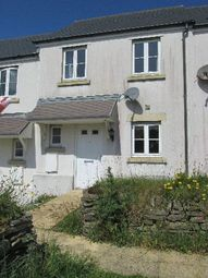 Thumbnail 2 bed terraced house to rent in Dymond Close, Camelford