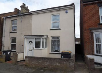 Thumbnail 3 bed semi-detached house for sale in Thornton Street, Kempston, Bedford