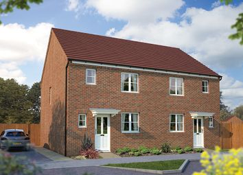 "Thumbnail 3 bed semi-detached house for sale in ""The Southwold"" at Beancroft Road, Marston Moretaine, Bedford"
