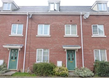 Thumbnail 4 bed terraced house for sale in Hemming Way, Norwich