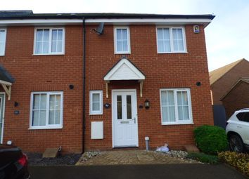 Thumbnail 1 bed semi-detached house to rent in Badgers Holt, Woburn Sands