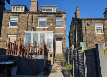 Thumbnail 3 bed end terrace house for sale in Longwood Road, Longwood, Huddersfield