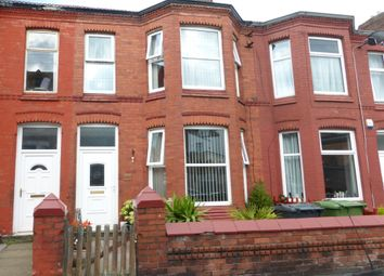 Thumbnail 3 bed terraced house for sale in Wright Street, Wallasey