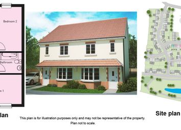 Thumbnail 3 bed semi-detached house for sale in Hyde Lane, Creech St. Michael, Taunton
