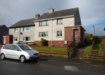 Thumbnail 2 bed flat for sale in Glamis Drive, Greenock