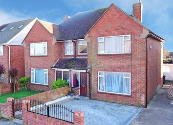 Thumbnail 3 bed semi-detached house for sale in Wiston Avenue, Worthing, West Sussex