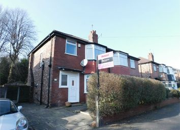 Thumbnail 3 bed semi-detached house to rent in Holland Road, Crumpsall, Manchester