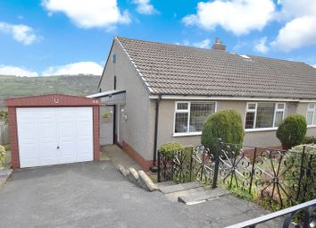 Thumbnail 2 bed semi-detached bungalow for sale in Bronte Drive, Oakworth, Keighley, West Yorkshire