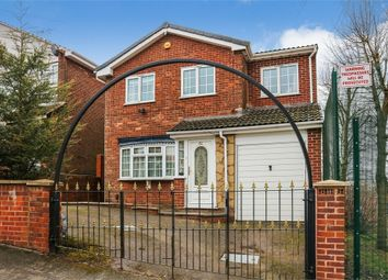 Thumbnail 4 bed detached house for sale in Peel Street, Dudley, West Midlands