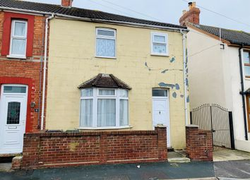 Thumbnail 3 bedroom end terrace house for sale in Cromwell Road, Weymouth