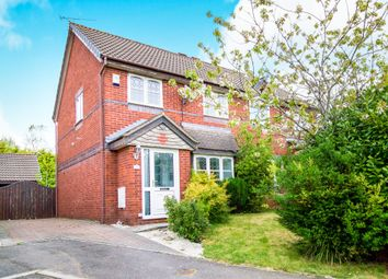 Thumbnail 3 bed semi-detached house for sale in Rushfield Gardens, Bridgend