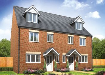 """Thumbnail 4 bed semi-detached house for sale in """"The Leicester"""" at Arcaro Road, Andover"""