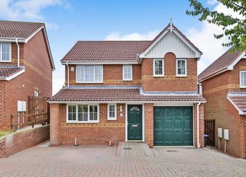 Thumbnail 4 bed detached house for sale in Edgewood Court, Sacriston, Durham