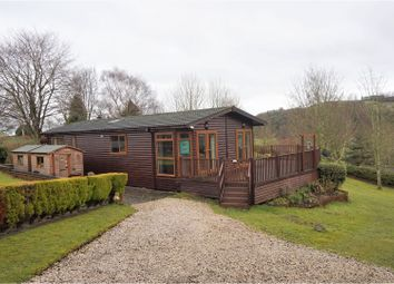 Thumbnail 3 bed mobile/park home for sale in Llanfyllin Road, Pentrebeidd
