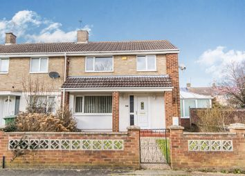 Thumbnail 3 bed end terrace house for sale in Shoreham Court, Corby