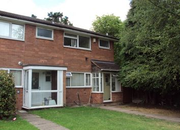 Thumbnail 3 bed end terrace house for sale in Earlswood Court, Handsworth Wood, Birmingham