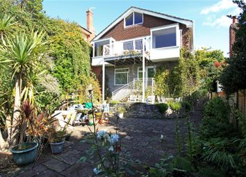 Thumbnail 5 bedroom detached house for sale in Corfe View Road, Lower Parkstone, Poole