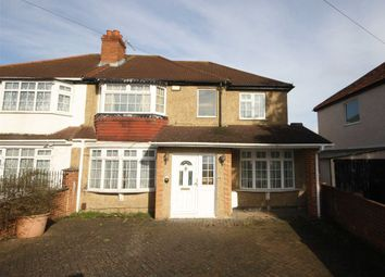 Thumbnail 4 bed semi-detached house for sale in Selbourne Avenue, Tolworth, Surbiton