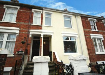 Thumbnail 3 bed terraced house to rent in Cemetery Road, Ipswich, Suffolk