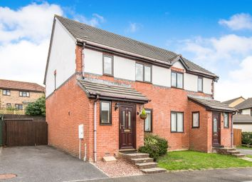 Thumbnail 3 bed semi-detached house for sale in Henley Close, Chardstock, Axminster
