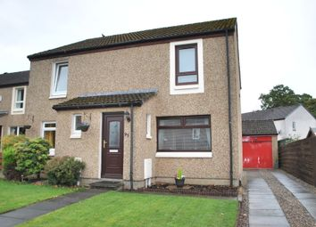 Thumbnail 2 bed semi-detached house for sale in Maryfield Park, Mid Calder, Livingston