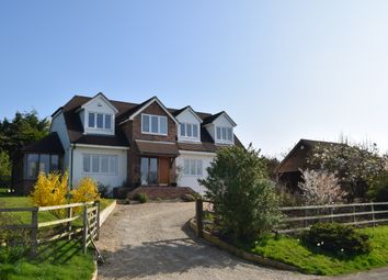 Thumbnail 4 bedroom country house for sale in Hill Drop Lane, Lambourn Woodlands