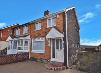 Thumbnail 2 bed semi-detached house to rent in Bradford Avenue, Town End Farm, Sunderland