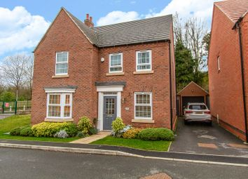 4 bed detached house for sale in Sunloch Close, Burbage LE10