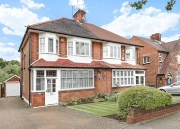 Thumbnail 3 bed semi-detached house for sale in Chanctonbury Way, Woodside Park
