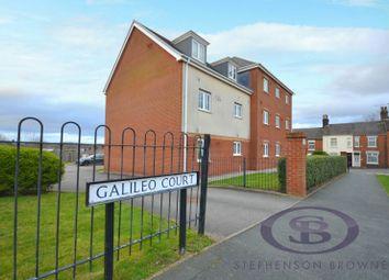 Thumbnail 2 bed flat for sale in Galileo Court, Burslem, Stoke-On-Trent