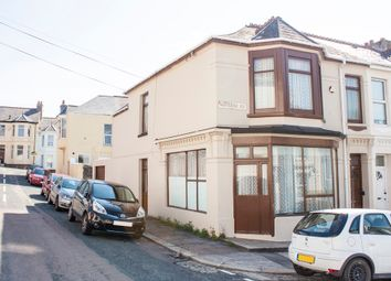 Thumbnail 3 bedroom end terrace house for sale in Maybank Road, St Judes, Plymouth