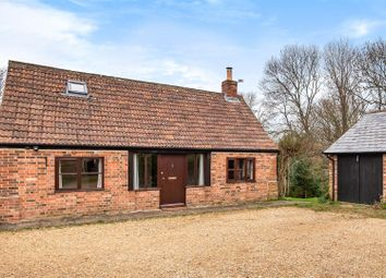 Thumbnail 2 bed barn conversion for sale in The Street, Cherhill, Calne