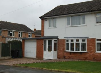 Thumbnail Semi-detached house to rent in Fair Lawn, Albrighton, Wolverhampton