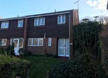 Thumbnail 3 bed end terrace house for sale in Egginton Close, Brighton