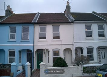 3 bed terraced house to rent in Stanley Road, Worthing BN11