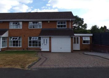 Thumbnail 4 bed semi-detached house for sale in Berberry Close, Selly Oak, Birmingham, West Midlands