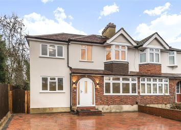 Thumbnail 3 bed flat for sale in High Worple, Harrow, Middlesex