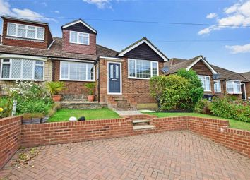 Thumbnail 3 bed semi-detached bungalow for sale in Main Road, Sutton At Hone, Dartford, Kent