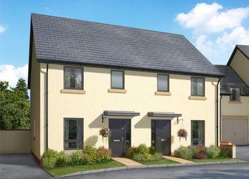 Thumbnail 3 bed semi-detached house for sale in Meldon Fields, Okehampton, Devon